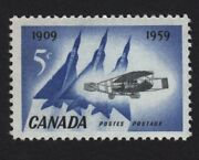 = Jet Planes And Silver Dart = Canada 1959 383 Mnh Q08
