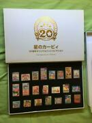 New Kirby 20th Anniversary Original Badge Pins Collection Club Nintendo Japan Fs