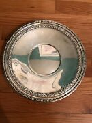 """Vintage Silverplate Reed And Barton Round 1201 Platter Dish Tray 10 1/2"""""""