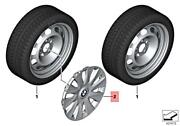 Genuine Bmw F20 F21 F22 F23 F30 F31 F35 16and039and039 Steel Wheel Rim Cover 36136791806