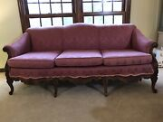 Authentic Victorian Sofa And Arm Chair