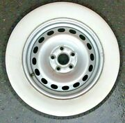16 Inch Rims 3and039and039 Wide Whitewall Topper Tire Trim Insert Firestone Style 4 Pcs
