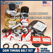 Timing Belt Kit Fits For Ty Camry Avalon Lexus Rx300 Es300 3.0l 1mzfe Us