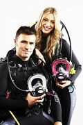 Ocean Reef Combo 2 Full Face Masks W/2nd Stage Regulators, Comms And Extender Kit