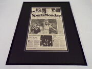 New York Times Jan 21 1980 Framed 16x20 Sports Page Poster Steelers Super Bowl