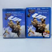 Disney Up Blu-ray + Dvd + Digital Factory Sealed With Slipcover