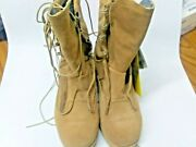 Us Military Desert Tan Combat Boots Made In Usa New Wellco Usa Mfg