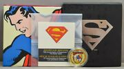 2013 Canada 75 14k Gold Superman Coin They Early Years .225 Agw With Box/ Coa