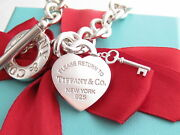 Authentic And Co Silver Return To Heart Key Toggle Bracelet 7.5