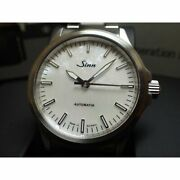Sinn 556.i.perlmutt.w Automatic Mother Of Pearl Silver Stainless 38.5mm Mens New