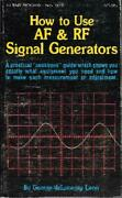 How To Use Af Rf Signal Generators