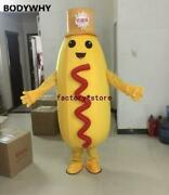 Advertising Hot Dog Mascot Costume Character Feature Fancy Outfit High-quality