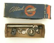 Napa Allied Monmouth Parts Automotive A378 Chassis Pieces Misc Box Vintage 1950s