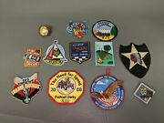 Lot Of 11 Boy Cub Scout Badges Patches And Tiger Scarf Slide 6d