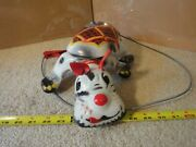 Rare Vintage Mobo, Walking/scamper Scottie Pressed Steel Tin Toy. World Patents