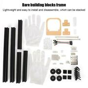 Diy Open-frame Computer Chassis Atx Radiator Aluminum Alloy Chassis Pc Game Case