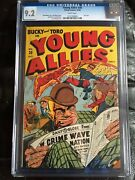 Young Allies 20 Cgc Nm- 9.2 White Pg Scarce Last Issue
