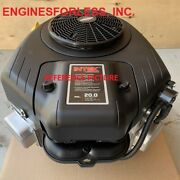 20 Gross Hp - Briggs And Stratton 40n877-0059 For Lawn Tractor Zero Turn Mower