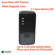 Real Time Live Mini Portable Hidden Spy Car Truck Gps Tracker With Magnetic Case