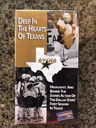 Dallas Stars Deep In The Heart Of Texas Sealed Vhs Tape Inaugural Season 93-94