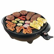 George Foreman Ggr50b Indoor/outdoor Non-stick Tabletop Smokeless Superb Grill