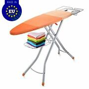 Bartnelli Adjustable Ironing Board With Cover| Steam Iron Rest | Storage Tray Fo