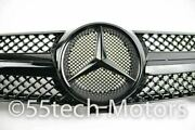 Mercedes W219 Cls500 Cls600 Cls Grille Grill 1 Fin Amg Black 100 Glossy Black
