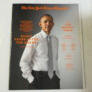 New York Times Magazine May 1 2016 Obama The Money Issue 8 Years After Crash M4