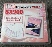 Easy Keyboard Bumper Book - 800 Registrations For Psr-sx900 Usb Only