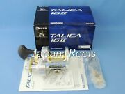 New Shimano Talica 16ii Tac 16 Ii 2-speed Fishing Reel 1-3 Days Fast Delivery