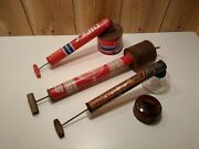 Vintage Continuous Sprayers Farm And Garden Lucky, Black Flag And Scott's Lot Of 3