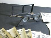 Ww2 Invasion In The West 1940 Raumbild-varag Stereo Viewer And 22 Original Cards