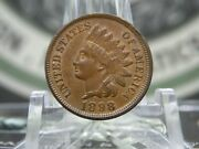 1898 Indian Head Cent Penny 1 East Coast Coin And Collectables Inc.