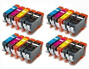 Ink Jet Cartridges For Use In Canon Pgi-220 Cli-221 Pixma Ip3600 Ip4600 Ip4700