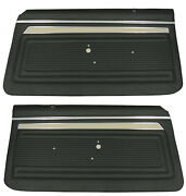 1969 Nova Pre Assembled Door Panel Set In Your Choice Of Factory Colors