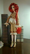 16 Inch Ooak Repaint Doll Handmade Beaded Clothes And Shoes