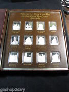 A Set Of 12 Norman Rockwelland039s Best Loved Post Covers Very Collectible Silver