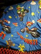Super Mario Brothers Bedding Twin Sized Reversible Comforter Only