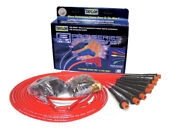 Taylor Cable 75289 Spark Plug Wires Spiro-pro 8mm Red Hemi Boots Universal V8