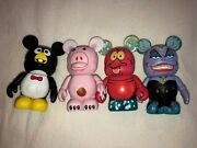 Rare Disney Vinylmation Toy Story And Little Mermaid Series Lot Of 4