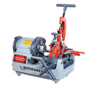 Rothenberger Portable Pipe Threading Machine 2se With 2 Free Pipe Stands