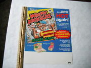 1988 Topps Wacky Packages Stickers And Sticker Album Dealer Sell Sheet
