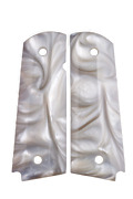1911 Pearl Grips Fits Gov And Clones White Mother Of Pearl Best And Most Sold Us 1