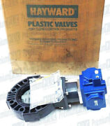 Hayward 4 Actuated Butterfly Valve Model H30 Sr-2cr 1/45 Ser Z82385 01 52 New