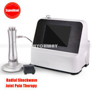 Ultrasonic Radial System Shockwave Pain Relief Therapy Weight Loss Spa Machine