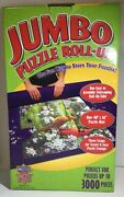 Master Pieces Jumbo Puzzle Roll Up For Up To 3000 Pc Puzzles Storage