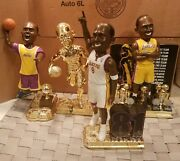 Kobe Bryant Bobble Head Lot Of Four 10and039and039 Limited Edition Lakers New Bobblehead