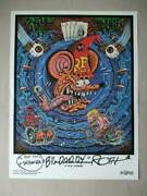 Ed Big Daddy Roth The Rat Fink Experience Autographed Lithograph Poster 2418 In