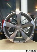 4 Jantes 17and039and039 Look Rotor Audi Sport Pour Tous Modandegraveles Audi / Vw