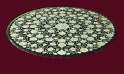 36 Marble Center Coffee Table Top Marquetry Floral Inlay Art